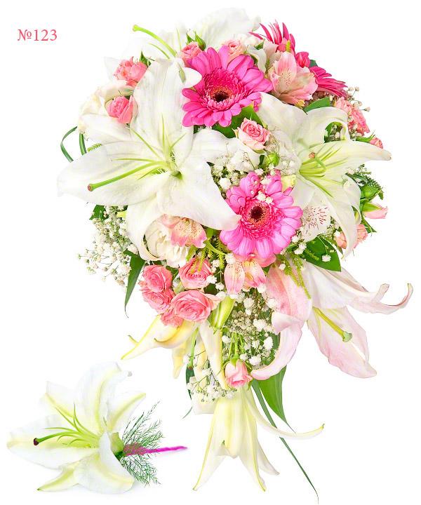 Infanta, Bouquet Holder, Gerbera, Lily Branch, Wedding