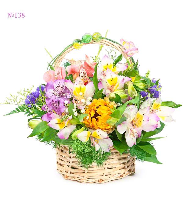 Loving Heart, Alstroemeria, Asparagus Umbellatus, Beargrass, Birthday